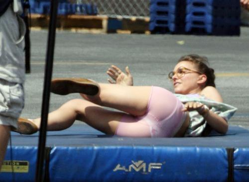 27-летняя Натали Портман принимает участие в съемках фильма «Хешер» режиссера Спенсера Сассера.